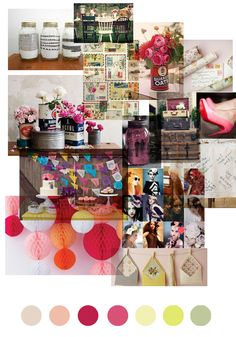 moodboard for a special party