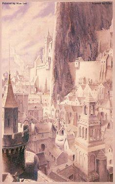 IMAGE(I)NARTE: el arte de la imaginación: LOS SEÑORES DE LAS ILUSTRACIONES (III): ALAN LEE
