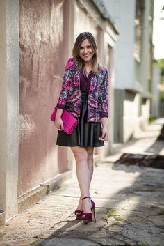 Chata de Galocha!   Lu Ferreira » Arquivos Look da Lu: rosa + rosa + preto - Chata de Galocha!   Lu Ferreira