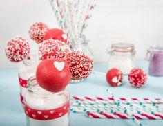 Herzchen Cake Pops Rezept
