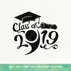 Graduation Signs Discover Graduation SVG Files Graduation 2019 dxf png eps for Silhouette Studio & Cricut Cut File Graduation Cards Handmade, Graduation Cap Decoration, Graduation Diy, Graduation Quotes, Kindergarten Graduation, Graduation Celebration, Graduation Silhouette, Graduation Shirts For Family, Artist Cake