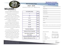 membership brochure template - event tickets templates fundraising ideas