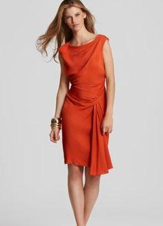 Diane Von Furstenberg Bec Draped Dress