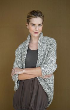 Speckled Shrug (Knit)