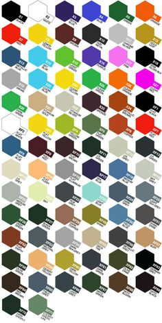 colour charts paint palette Air Brush Painting, Painting Tools, Figure Painting, Paint Charts, Modeling Techniques, Plastic Model Cars, Car Colors, Paint Effects, Model Airplanes