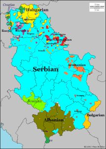 Languages/dialects of Serbia