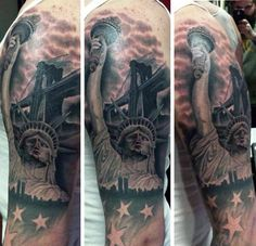Freedom Tattoos For Men 70 statue of liberty tattoo designs for men ...