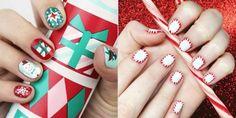 Nail art Christmas - great ideas for your festive nails - Nail Designs Snowflake Nail Design, Snowflake Nails, Christmas Nail Designs, Christmas Nails Glitter, Christmas Nail Art, Holiday Nails, Christmas Ideas, Elegant Nail Designs, New Nail Designs