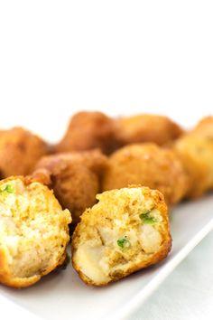 Scallop & Shrimp Hushpuppies