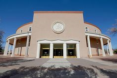 New Mexico State Capitol in Santa Fe: Land of Enchantment