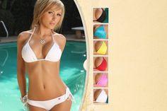 Tan-Through Bikinis
