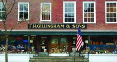F.H. Gillingham & SonsThe Oldest Family-Run General Store in Vermont The size and shape of Woodstock, Vermont, was quite different in 1886 when Frank Henry Gillingham opened his store that stood in the heart of this small New England town. Reverently, the community has preserved the physical buildings and the spiritual essence of an earlier day. Located in the village center is F.H. Gillingham & Sons General Store. The faces of the townsfolk may have changed and the store's inventor...