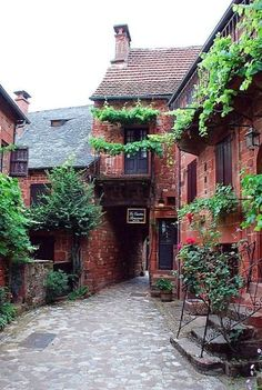 Collonges-la-Rouge in Corrèze, Nouvelle-Aquitaine, France