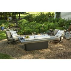 solano bar height fire pit table | fire pit tables | pinterest