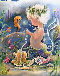 Shop Baby Mermaid Poster created by Creechers. Mermaid Cove, Mermaid Fairy, Baby Mermaid, The Little Mermaid, Real Mermaids, Mermaids And Mermen, Mythical Creatures, Sea Creatures, Mermaid Poster