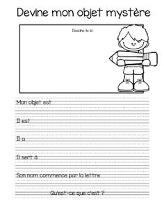 Printing Pattern Shape Learn French Videos Tips France French Teaching Resources, Teaching Writing, Writing Activities, Teacher Resources, Teaching Spanish, French Flashcards, French Worksheets, Teaching French Immersion, French Education