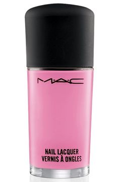MAC Nail Lacquer, Saint Germain- One of my favorite lip colors comes in a nail polish?!?!