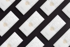 Elegant Chocolate Packaging With an Art Deco Font