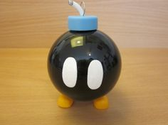 Mario Bomb Omb Ornament by ABitofImagination | Super Mario Brothers Nintendo NES