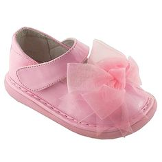Amazon.com: Wee Squeak Pink Patent Clip Bow Maryjane Shoes Baby Toddler Girls 3-10: Wee Squeak: Shoes