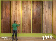 XXL-Muster in der Ausstellung Wien #parkett #ausstellung #wien #schauraum Divider, Room, Furniture, Home Decor, Patterns, Bedroom, Decoration Home, Room Decor, Rooms