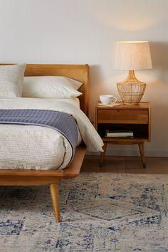 Master Bedroom Interior, Modern Bedroom Decor, Home Bedroom, Modern Minimalist Bedroom, Mid-century Interior, Bedroom Rugs, Modern Bedding, Rustic Bedroom Furniture, Bedrooms
