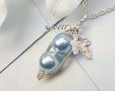 New  Sterling Silver Peas In A Pod Precious Boys by Kikiburrabeads, $26.00