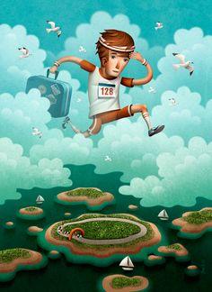 Runner's World Feature by Jon Reinfurt