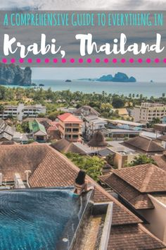 Things to Do in Krabi, Thailand- A Comprehensive Guide to the Region - Where in the World is Nina? : Things to Do in Krabi, Thailand - Your ultimate Krabi resource. Krabi Town Thailand, Thailand Destinations, Thailand Vacation, Thailand Travel Guide, Visit Thailand, Asia Travel, Backpacking Thailand, Thailand Adventure, Cambodia