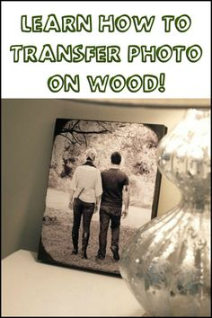Display memorable photos the rustic way with timber! Learn how you can transfer your favourite captured moments to wood by watching the video tutorial here...