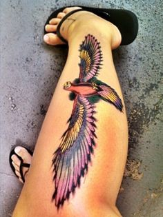 Best Eagle Tattoos...umm i think thats a parrot...