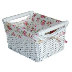 White Willow Collection Basket Dunelm Mill Wicker Baskets Storage Ideas