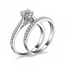 Item Type: RingsFine or Fashion: FashionSurface Width: 2mmRings Type: Wedding BandsStyle: RomanticGender: WomenSetting Type: Bezel SettingMaterial: CrystalOccas
