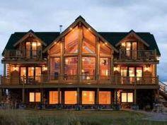 Immobilien Kanada villa Ardoise Haus kaufen Forest Lakes Country Club: Attraktives Einfamilienhaus Citadel im Blockhaus-Stil