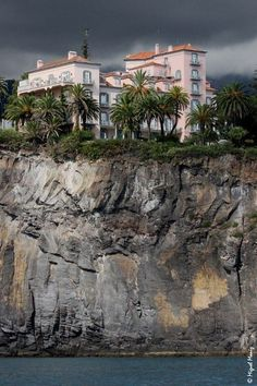 Reid's Palace hotel on the cliffs - Madeira Island, #Portugal...