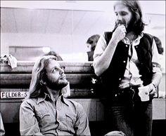 Don Felder and Glenn Frey