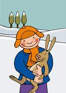 Jules in de winter 2