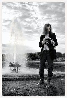 Patti Smith in Versailles