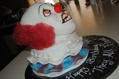 It ....   Pennywise By toodlesjupiter on CakeCentral.com