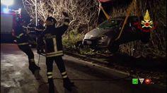 Vigili del Fuoco - Bogliasco (GE) - Intervento per incidente stradale - ...