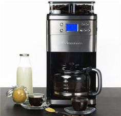 <p>Coffee lovers know that coffee is best enjoyed when it has been freshly ground and brewed; and the coffee machine with built in grinder is ideal pick to fulfill your needs. In this page, we would like to share a great coffee machine with built in grinder by Andrew James. …</p>