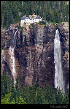Bridal Veil Falls Telluride Colorado by mcruff, via Flickr