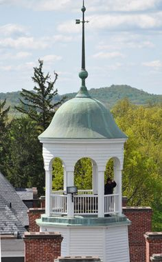 Seminary  Cupola used as an Observatory for the Civil War in Gettysburg, PA