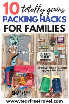 8 genius tricks that will change the way you pack Looking for the best packing hacks? Check out my best tips for packing for travel with kids. These family friendly packing hacks will help you pack light and save space with kids. All the best packing tips