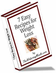 7 Easy Recipes for Weight Loss :D get a free ebook on my website at http://thewateringmouth.com/free-ebook-7-easy-recipes-for-weight-loss/