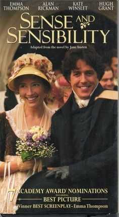 Sense and Sensibility (1995) I prefered the 2008 version. Gorgeous Film, Alan Rickman Movies, Best Picture Winners, Anouk Aimee, Father Knows Best, Best Screenplay, Ang Lee, Close Caption, Movie Posters