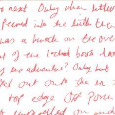 * Moda Fabric - Posy Daisy Handwriting - Aneela Hoey - Cotton