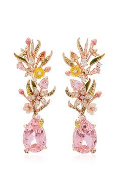 Posie Pink Earrings by Anabela Chan