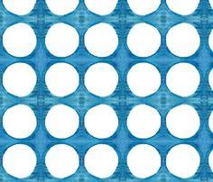 C'EST LA VIV™ Summer Breeze Collection_Porthole  fabric by cest_la_viv on Spoonflower - custom fabric