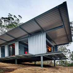 Who Else Wants Simple Step-By-Step Plans To Design And Build A Container Home From Scratch? Building A Container Home, Container Buildings, Container Architecture, Container Houses, Nature Architecture, Architecture Awards, Architecture Design, Container Home Designs, Casas Containers